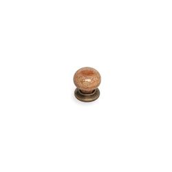 Esal Yıldız Düğme Antik Kahve Kulp