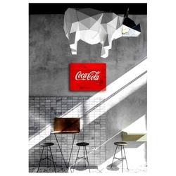 Oldwooddesign OLD005 Retro Coca Cola Tablo - 60x40 cm