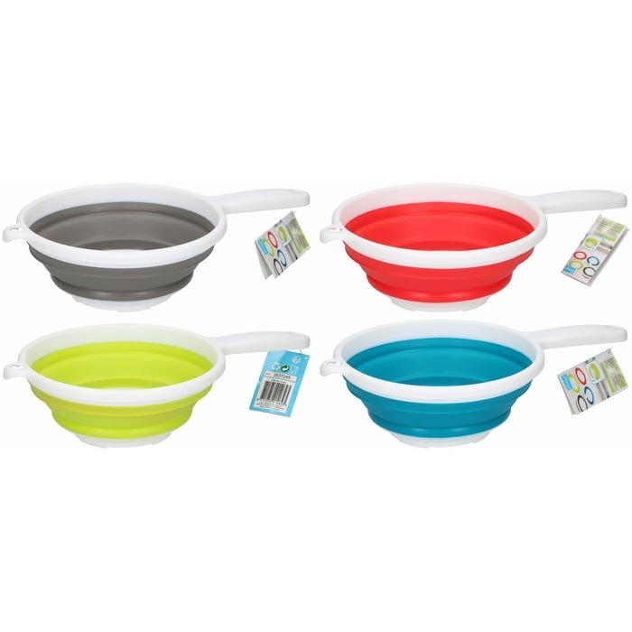 Colours in Kitchen Silikon Süzgeç - Yeşil
