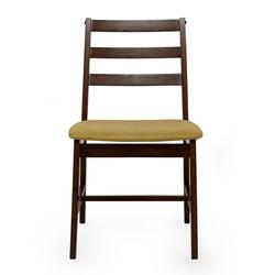 Vitale Middle Doğal Ahşap Sandalye - Yeşil