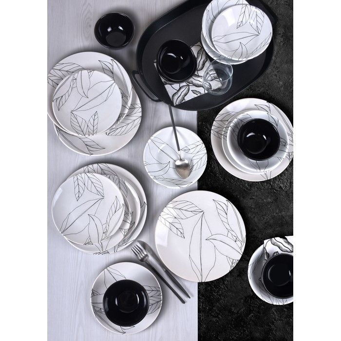 Resim  Keramika 18393 Kera Art Versay 24 Parça Yemek Takımı