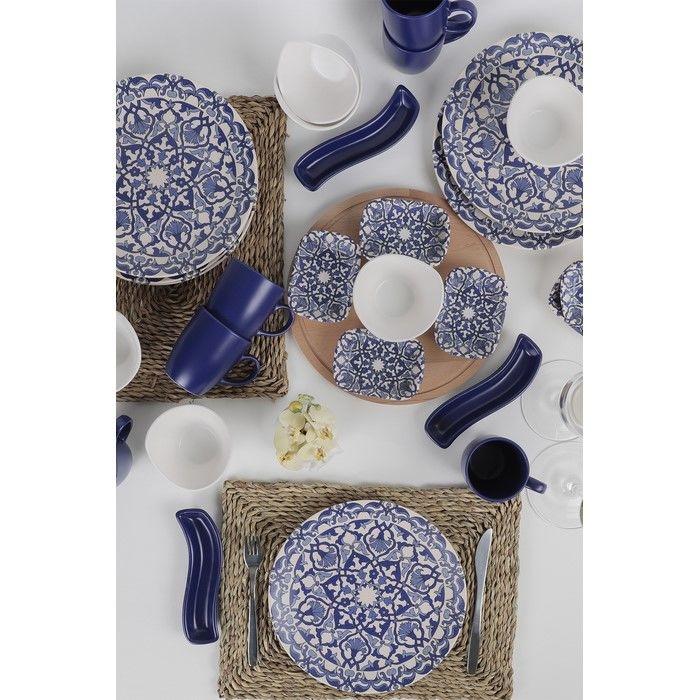 Resim  Keramika 28 Parça 6 Kişilik Kahvaltı Takımı - Osmanlı
