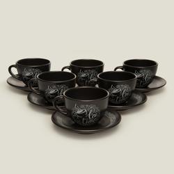 Keramika Tea Time 12 Parça Çay Seti