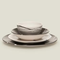 Keramika Delta Bahar Bulut 24 Parça Yemek Takımı