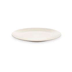 Keramika Ege Servis Tabağı - Mat Krem