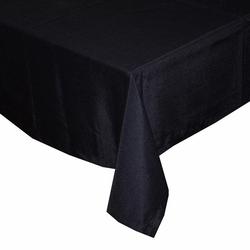 Aliz Masa Örtüsü 140x170 cm - Siyah