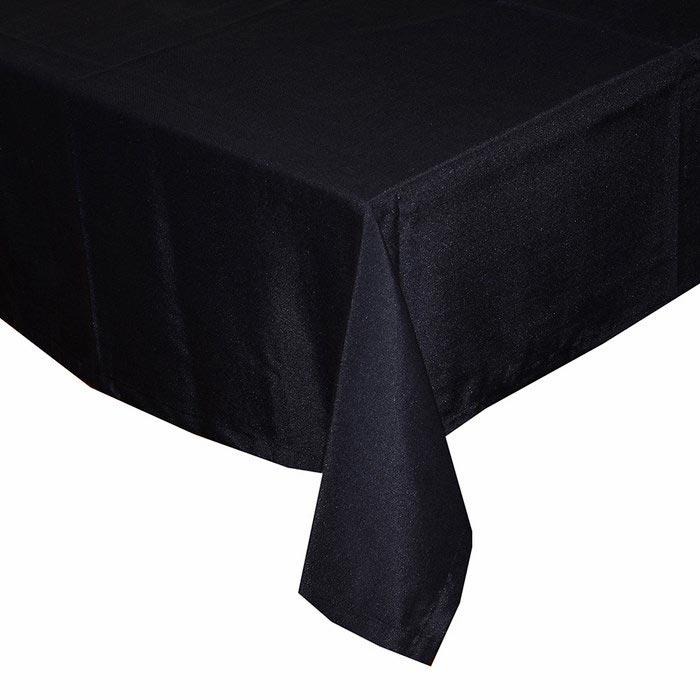 Resim  Aliz Masa Örtüsü 140x170 cm - Siyah
