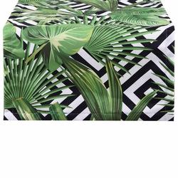 Aliz Runner Tropical Desenli Masa Örtüsü - 40x140 cm