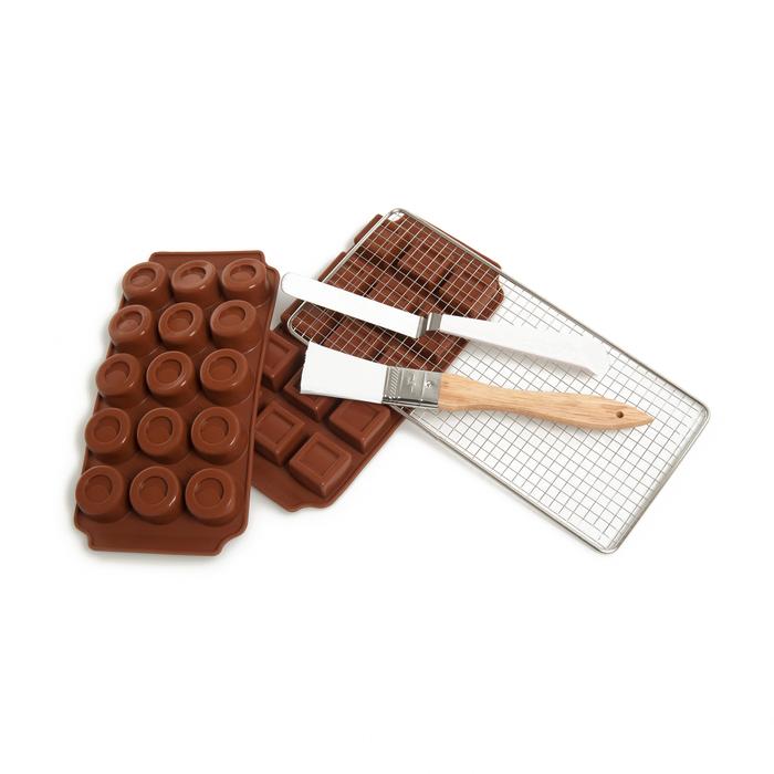 Fackelmann Silikon Çikolata Seti