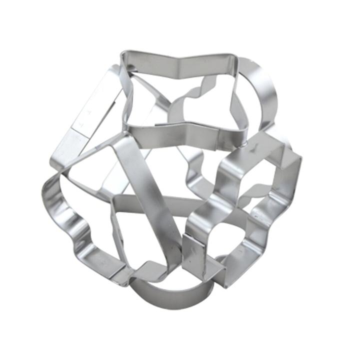 Resim  Fackelmann Kub Metal Kurabiye Kalıbı