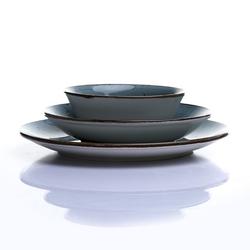 Tulu Porselen Ali'den Reactive 18 Parça Yemek Takımı - Turkuaz