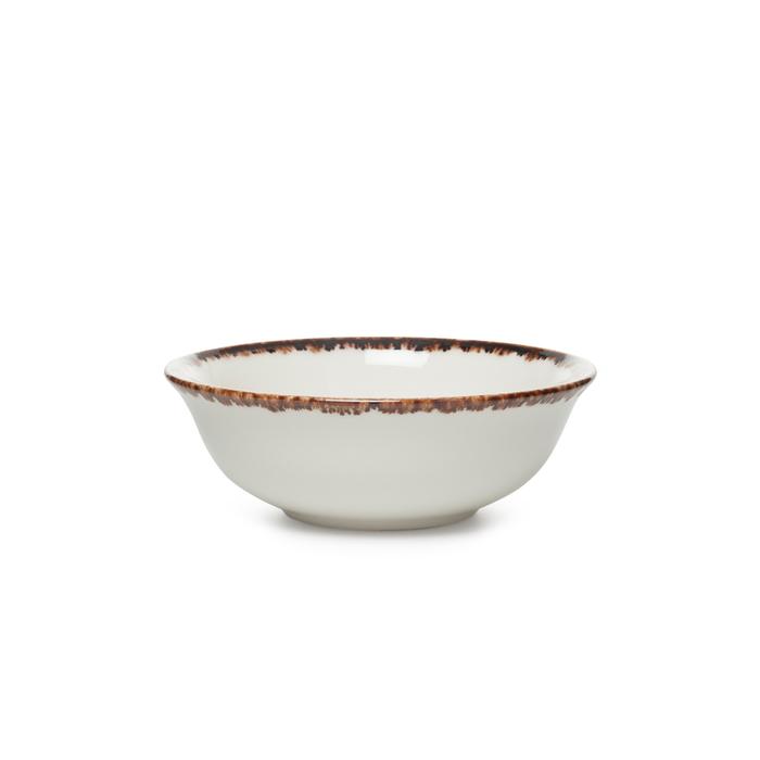 Tulu Porselen 1 Parça Klasik Kase - Krem / 14 cm