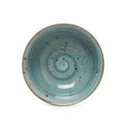 Tulu Porselen 1 Parça Kase - Reactive Turkuaz / 14 cm