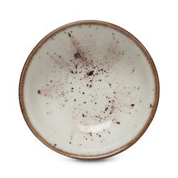 Tulu Porselen 1 Parça Kase - Reactive Krem / 14 cm