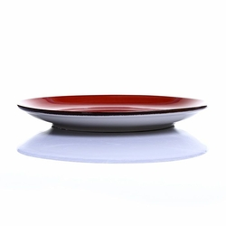 Tulu Porselen 1 Parça Pasta Tabağı - Trend Kırmızı / 19 cm