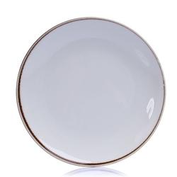 Tulu Porselen 1 Parça Servis Tabağı - Vintage / 24 cm
