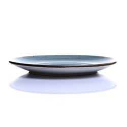Tulu Porselen 1 Parça Servis Tabağı - Reactive Turkuaz / 24 cm