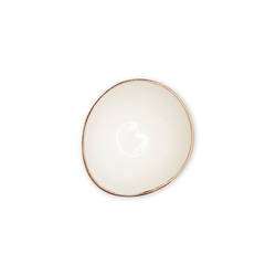 Tulu Porselen Pol15 1 Parça Kase - Reactive Krem / 15 cm