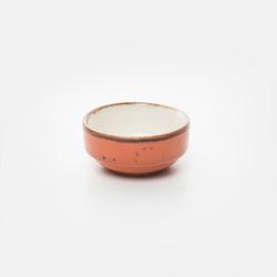 Tulu Porselen Joker Kase - Turuncu / 6 cm
