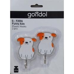 Gondol Plastik g-93006 2'li Funny Askı