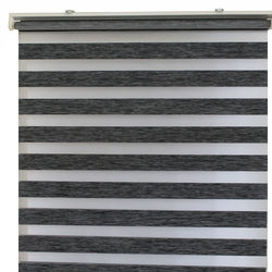 Gardinia 90-272 Zebra Stor Perde (Antrasit) - 120x200 cm