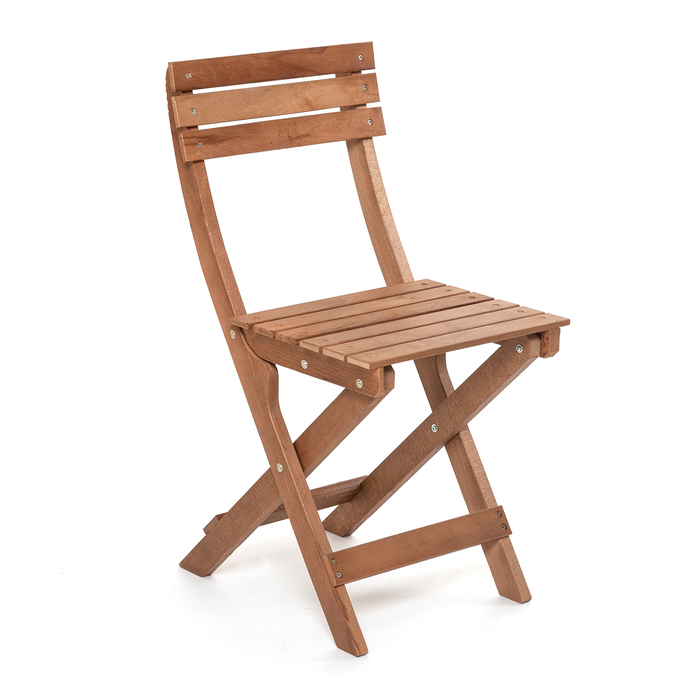 Just Home Katlanır Masif Sandalye
