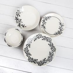 Marianna Lina 24 Parça Yemek Takımı - Beyaz