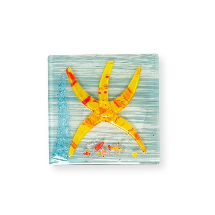 Resim  Füzyon Deniz Yıldızı Gider Süsü (Asorti) - 10x10 cm