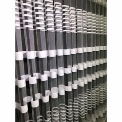 Brillant Beyaz Zebra Tül Perde 1/2 Pile 460x260 cm