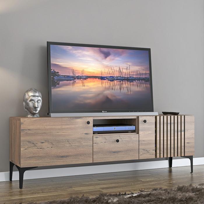 Resim  Just Home Elit Tv Ünitesi - Atlantik Çam