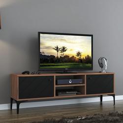 Just Home Fiera Tv Ünitesi - Siyah/Atlantik Çam