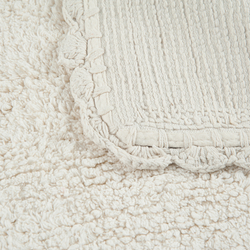 Linnea Lüks Banyo Paspası (Krem) - 50x80 cm