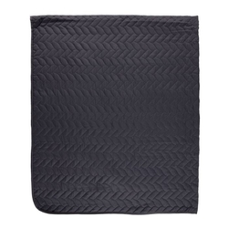 Linnea Çok Amaçlı Tek Kişilik Yatak Örtüsü - 160x230 cm - Antrasit