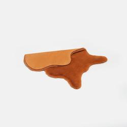Linnea Tavşan Tüyü Post Halı (Hardal) - 60x90 cm