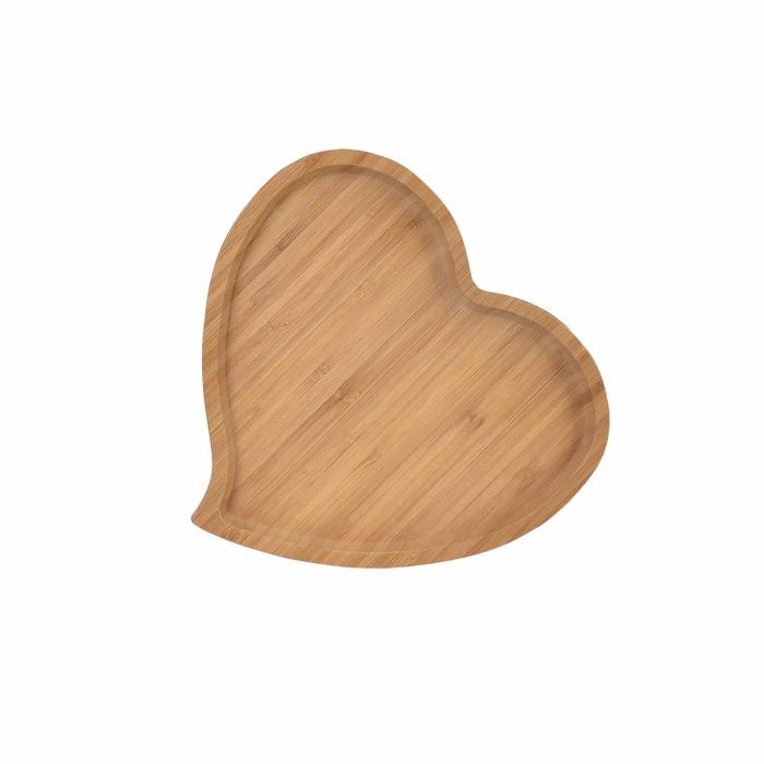 Bamwood Kalp Tepsi - 23 cm