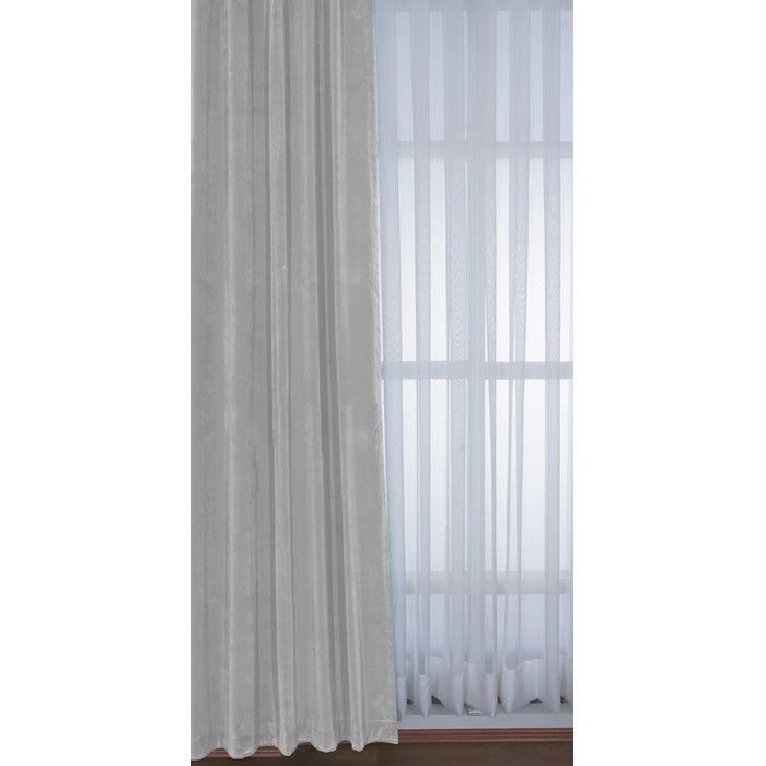Resim  Premier Home 1413 Kadife Fon Perde (Açık Krem) - 140x270 cm