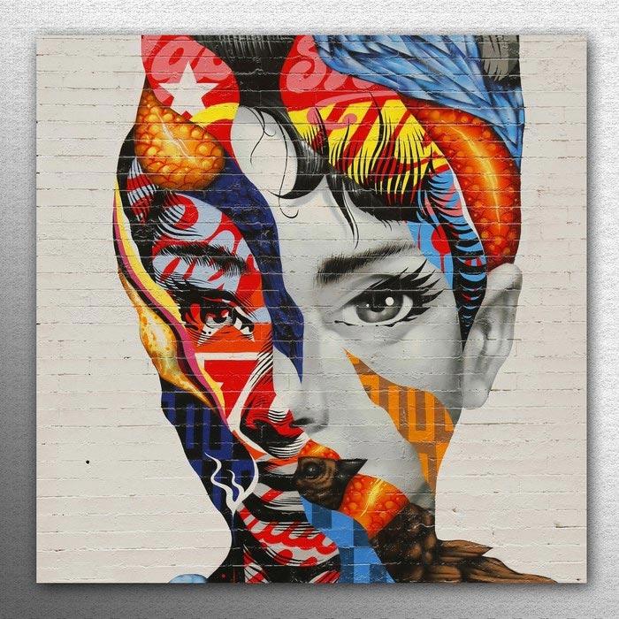 Resim  K Dekorasyon KM30-1076 Modda Mdf Tablo - 30x30 cm