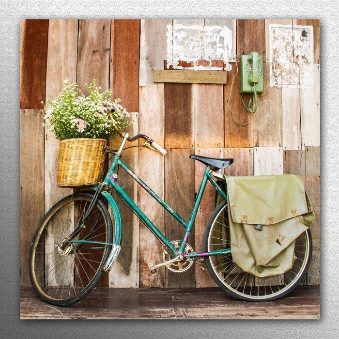 Resim  Doku Tablo KM30-1098 Mdf Tablo - 30x30 cm
