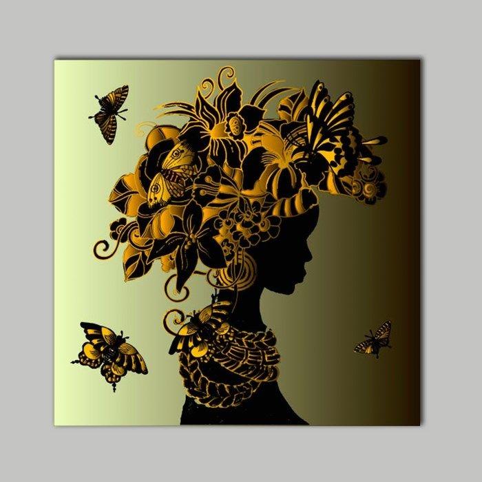 Resim  K Dekorasyon KM30-1213 Mdf Tablo - 30x30 cm