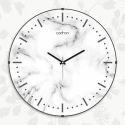 Cadran EVD015 Dekoratif Bombeli Cam Duvar Saati