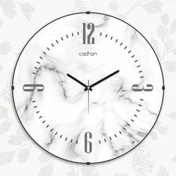 Cadran EVD016 Dekoratif Bombeli Cam Duvar Saati