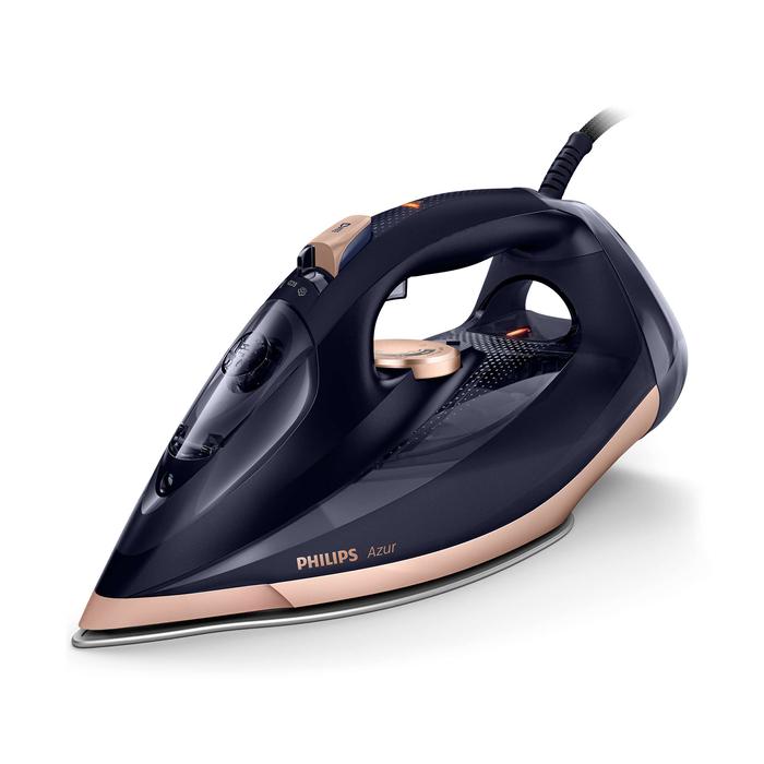 Philips GC 4909/60 Azur Buharlı Ütü - Siyah/Bronz / 3000 Watt