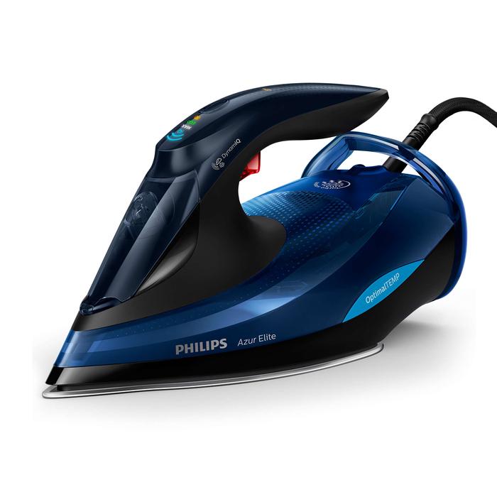 Philips GC 5032/20 Azur Elite Buharlı Ütü - Siyah/Lacivert / 3000 Watt