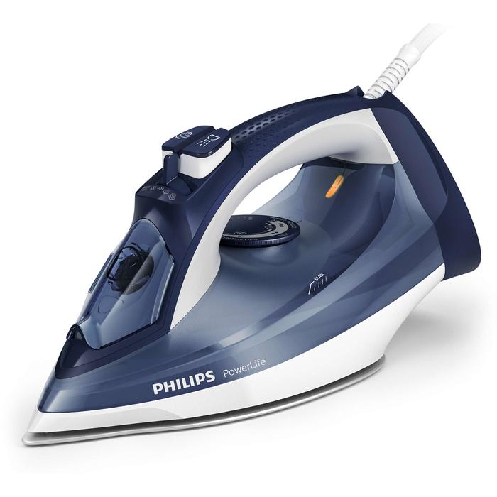 Philips GC 2994/20 PowerLife Buharlı Ütü - Lacivert / 2400 Watt