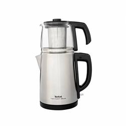 Tefal Tea Expert Deluxe Cam Demlik Çay Makinesi - Paslanmaz Çelik / 1,8 lt