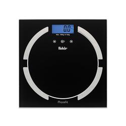 Fakir Massfit Cam Baskül - Siyah / 180 kg