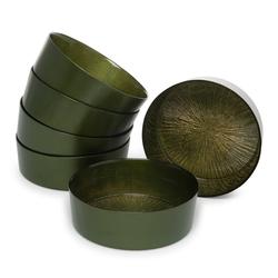 Cemile Cam Kase Rexy Yeşil - 22 cm