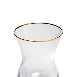 Cemile Helen Gold 6'lı Çay Bardağı - 150 cc