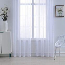 Premier Home Düz Tül Perde (Beyaz) - 300x260 cm