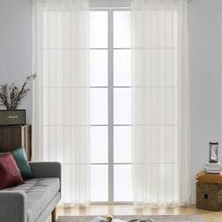 Premier Home Düz Tül Perde (Kırık Beyaz)- 300x260 cm